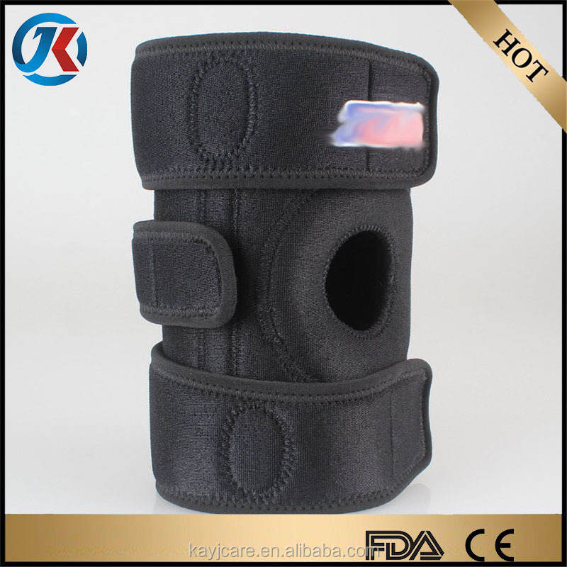 new products medical wrap around hinged sponge knee brace for sale