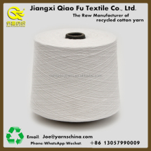 Ne12s/1, Open end, blended best discount Regenerated yarn cotton glove yarn for weaving