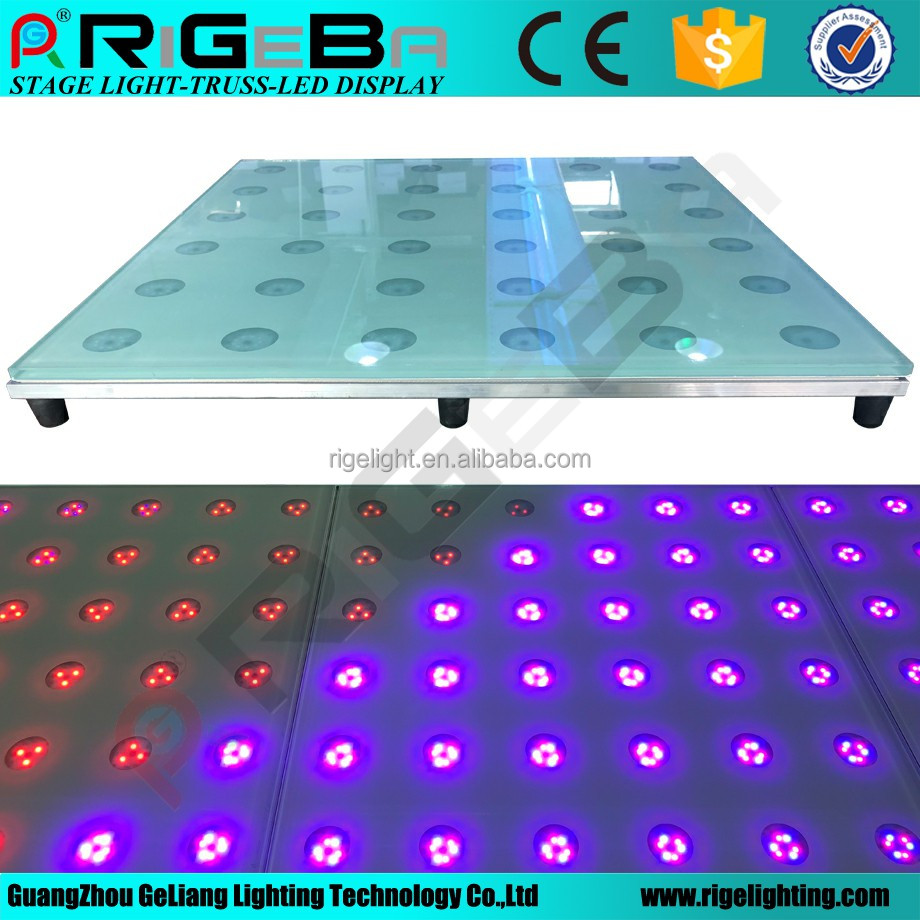 LED Digital <strong>RGB</strong> color 60x60cm portable led dance floor