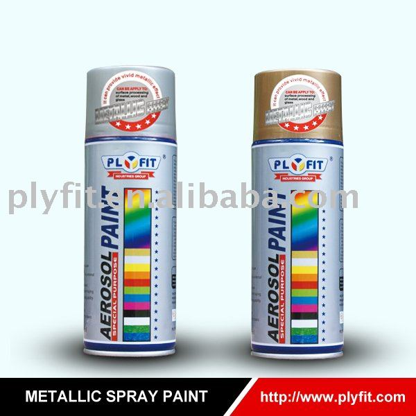 special purpose Metallic effect acrylic spray paint