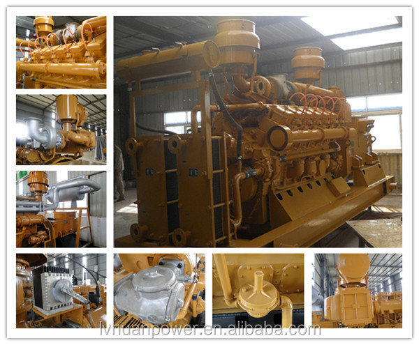CE ISO power generation 20 - 500kw biomass wood fired electric generator