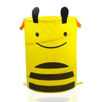 SW Home furniture portable folding storage animal clothes laundry basket toys storage box collapsible laundry basket