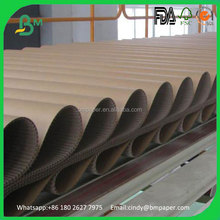 Smooth Surface High performance e flute thick corrugated cardboard sheet