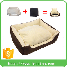 manufacturer wholesale puppy supplies warm Eco-friendly plush dog bed