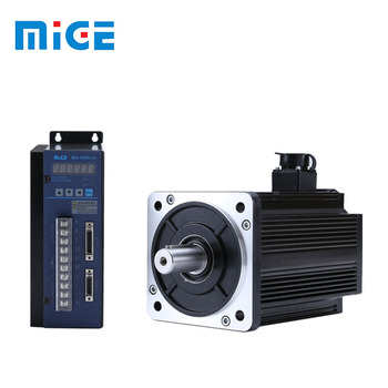 China Cheap AC servo motor 130mm 2500rpm 1.5KW with 17 bit absolute encoder