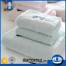 2016 china manufacturer with high quality thin organic cotton bath towels