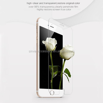 Sinva 0.33mm 9H Toughened Glass Screen Protector For iphone 6 Two Smart Keys Tempered Glass Screen Protector