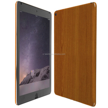 2017 Newest Ultra slim Wood Pattern PU leather tablet case Protecive back cover case for Apple iPad Air 2