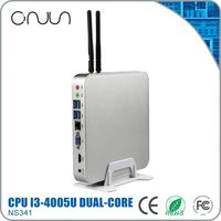 thin tiny computer wholesale supply mini pc x86 i3