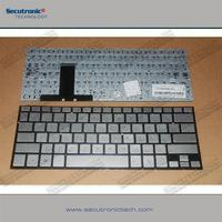 Popular model Laptop keyboard for ASUS UX31 UX31A UX31LA UX31E US Silver without frame