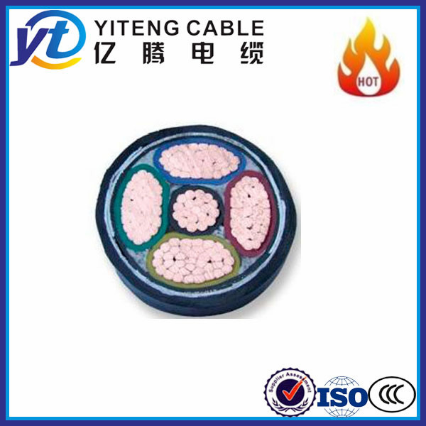 CU/XLPE/STA/ PVC power cable steel tape armored cable low voltage cable