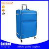 Sky blue color travel luggage bags