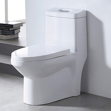 Siphonic Bathroom Ceramic One Piece Toilet with Good Reputation
