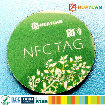 Free sample HF nfc tag label with MIFARE Classic 1K chip