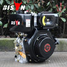 BISON(CHINA) BS186F 406cc 10hp OHV Small Portable Air Cooled Vertical Shaft Diesel Engine