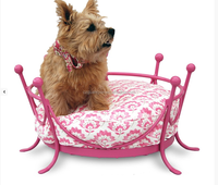 The Crown Metal Frame Dog Bed