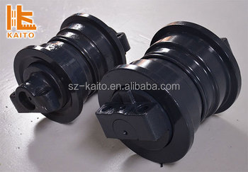 Road construction asphalt paver spare parts track roller