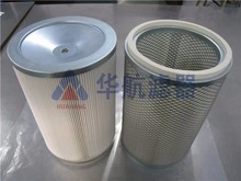 Polyester pre-filter fabric dust collection air filter cartridge
