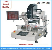 RW-E6250 Automatic Infrared Hot Air BGA rework station with HD touch screen for mobile phone solder and desolder machine