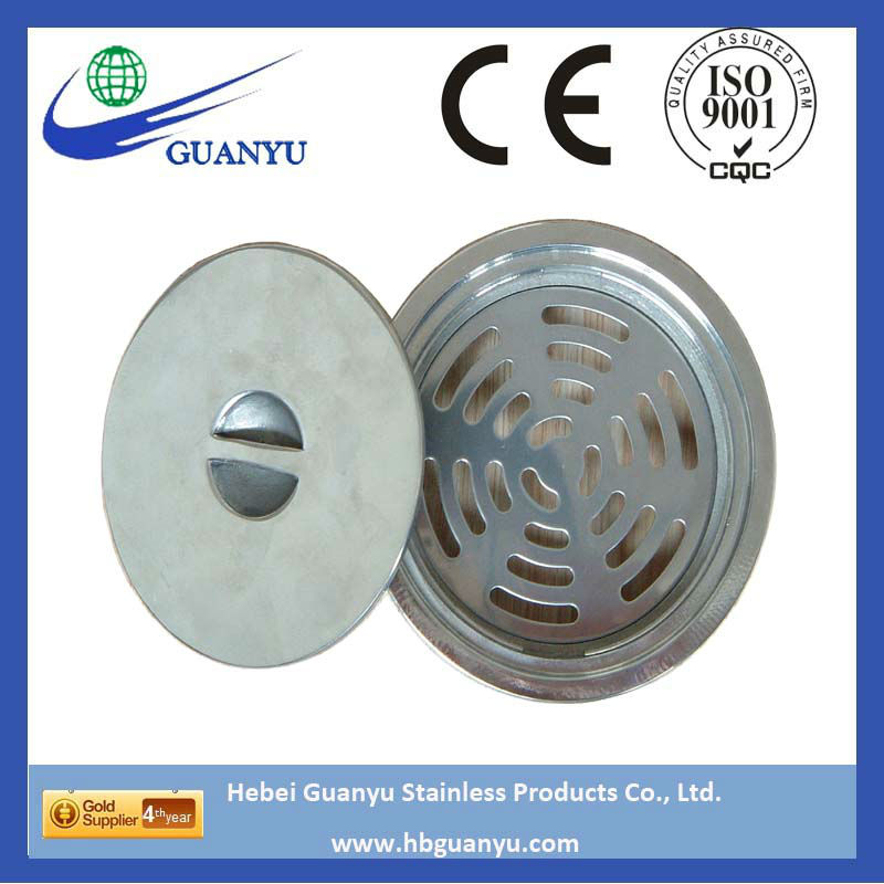 China factory stainless steel floor drain with cover