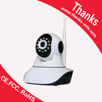 Factory Directly baby monitor 1.0MP HD 720P Controllable rotation P2P Pan IR Cut WiFi Wireless Network IP Security Camera