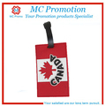 silicone indestructible luggage tag with customized logo