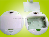 AAA Circular Type Battery Holder With Switch And Lid For 3 AAA Battery