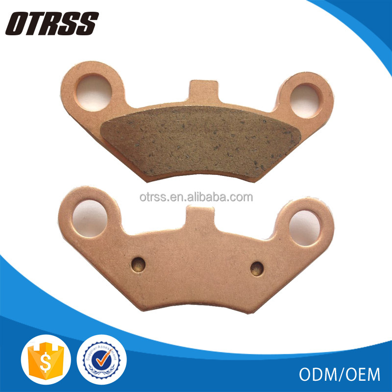 High performance parts No noise Long life Sintered brake pads FA453 for LINHAI ATV