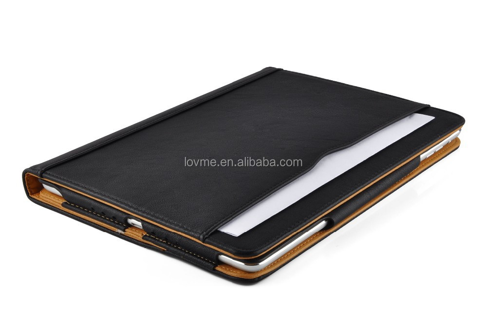 leather case movie stand case for ipad air case cover