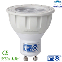LED spot 5.5W GU10 535LM to replace 50W halogen