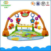 High quality musical piano keyboard non-toxic cheap baby play mats