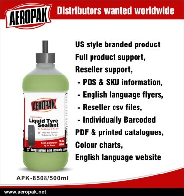 Aeropak Ms polymer Liquid tyre sealant