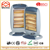 1200W Electric Infrared Halogen Heater