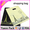 Yason plastic handle bag for shopping target reusable shopping bag eco-friendly rpet plastic shopping bags
