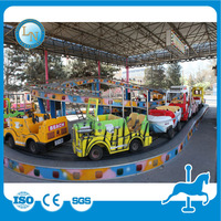 Attractive!Kids outdoor funfair playground car games climbing cars amusement park rides for sale