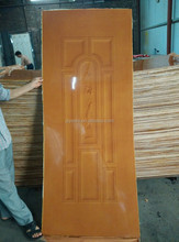hot selling laminated exterior moulded hdf door skin for door