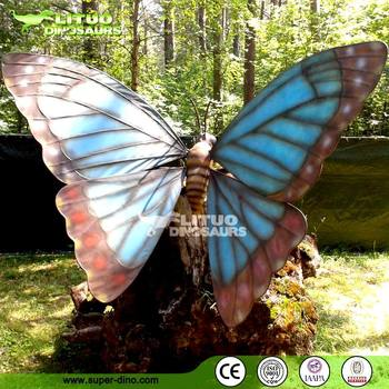 Giant butterfly decorations for Outdoor butterfly decor