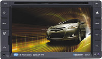 Car DVD with 6.2 inch screen,GPS navigation,Bluetooth portable dvd player with digital tv tuner