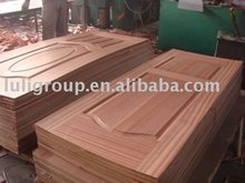 3mmx600,740,920x2150 natural teak wood veneered face Door skin designs