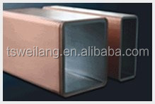 China Factory manufature square copper mould tube with competitive advantage