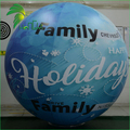 Fades Full Printing Promotional Helium Sky Balloon / Outdoor Commercial Flying PVC Printed Sphere Balloon
