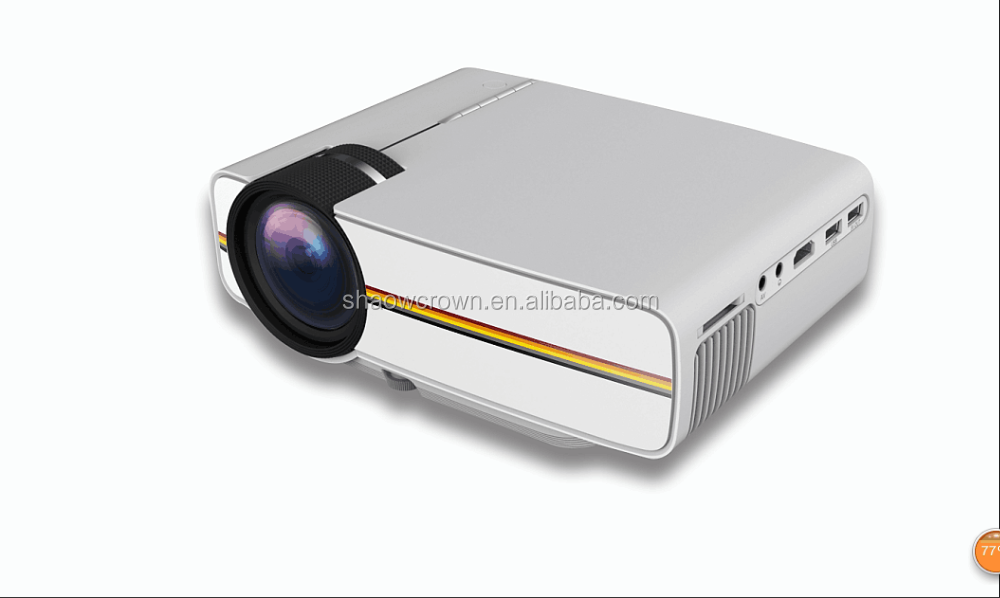 2016 Original YG400 mini Projector Full HD 1080P IR/USB/SD/VGA Home Theater Projector
