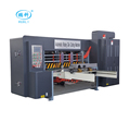 high speed automatic sheet feed cylinder die cutting and creasing machine