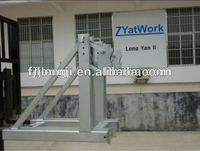 DH2 forklift attachment drum lifter