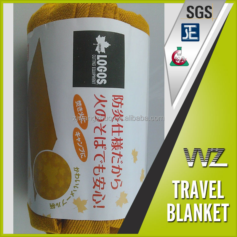 export to Japan 100% Modacrylic flame retardant woven blanket disaster preparendness blanket