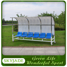 good quality portable football subsitute bench /team shelter