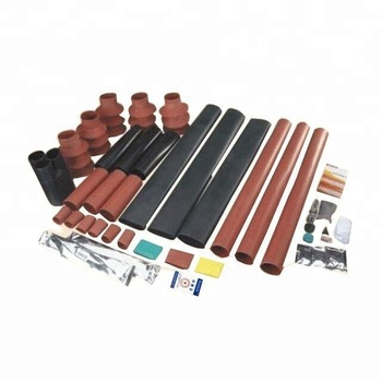 Hot sale plastic cable connector/three single core termination kit/heat shrink tube