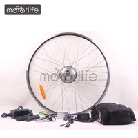 MOTORLIFE HOT SALE Direct factory supply electric front wheel bike conversion kit