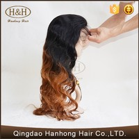 Hot selling unprocessed cheap raw remy brazilian full lace human hair wig