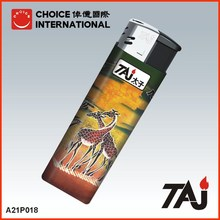 TAJ Brand African animal cover Electronic lighters